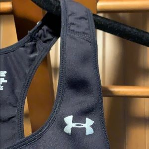 Under Armour Other - Under Armour black sports bra, Size M